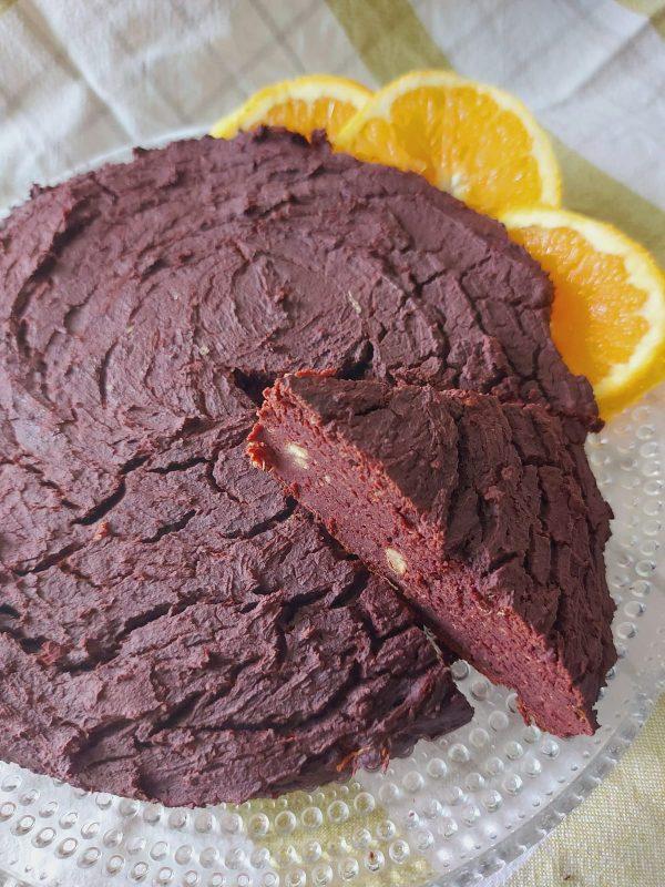 Torta sofficissima al cioccolato e ceci